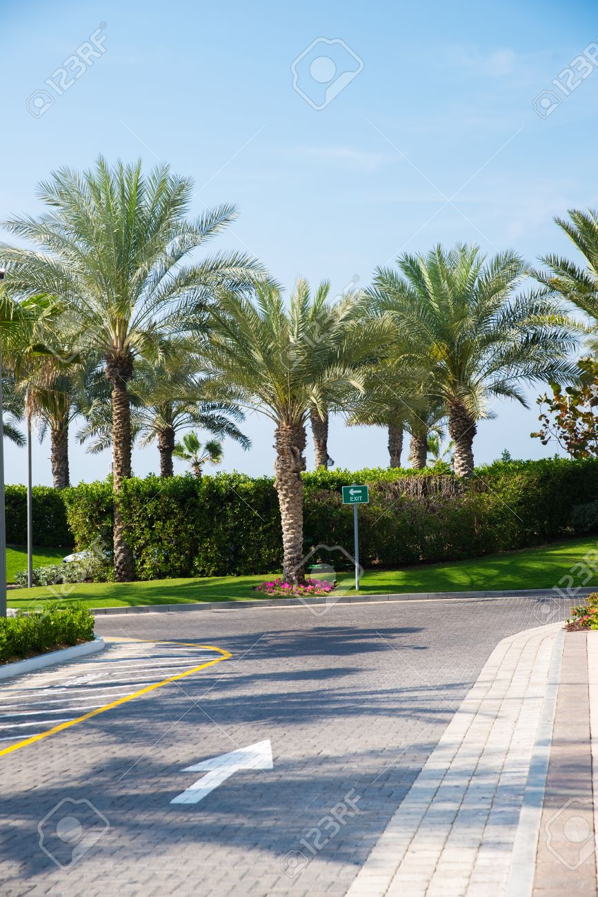 Beautiful Roads In Dubai Stock Photo Picture And Royalty Free Image Image 29036014