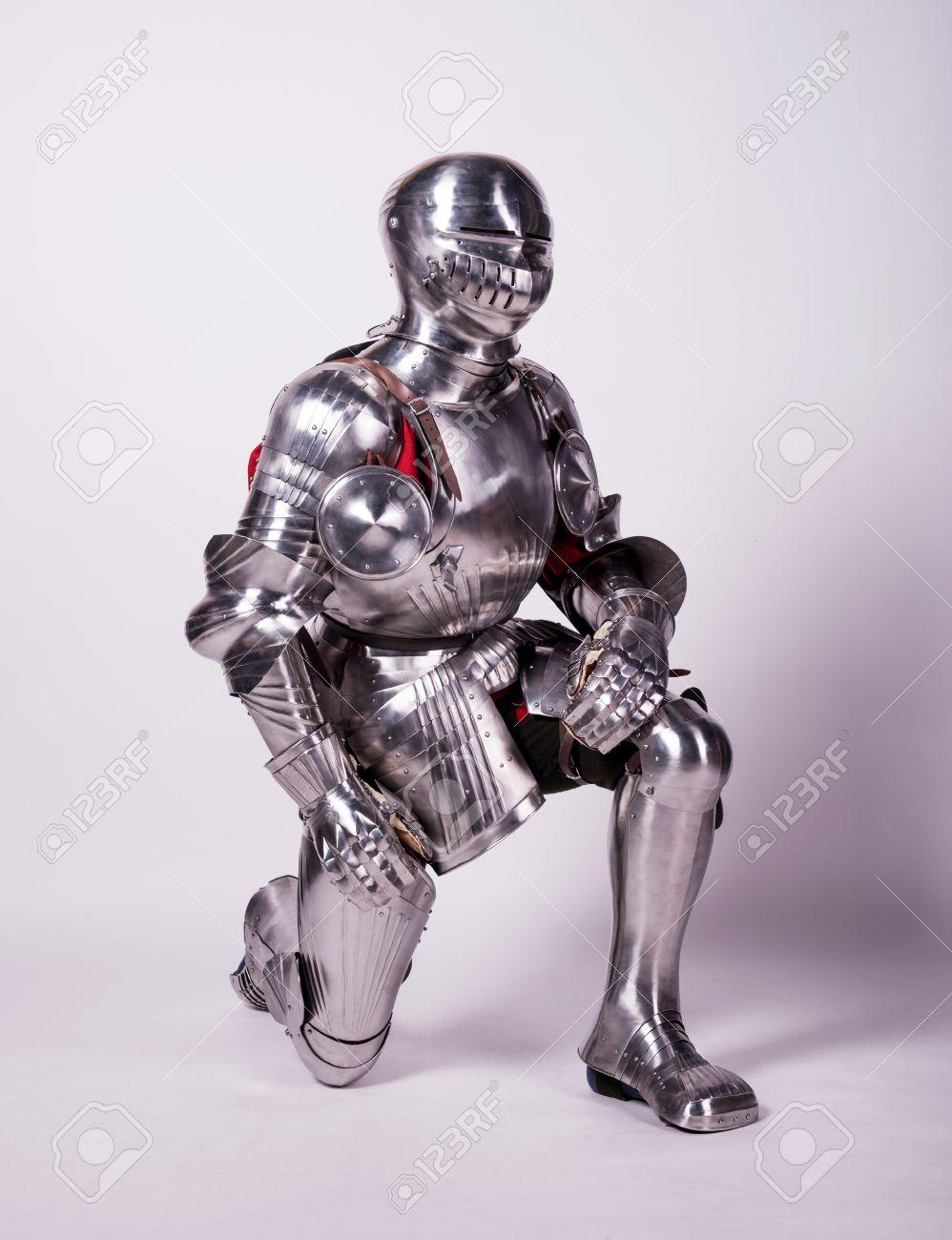 金属の鎧の騎士 の写真素材・画像素材 Image 30202544.