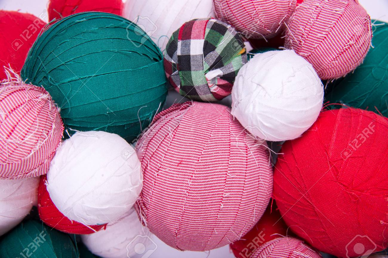 Fabric Balls Close Up As Background Stock Photo Picture And Royalty Free Image Image 109177023