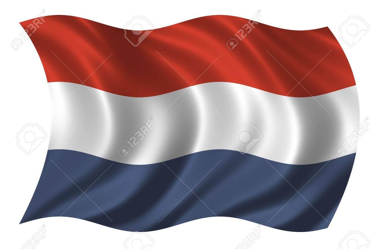 Netherlands Flag Waving Flag of The Netherlands Waving