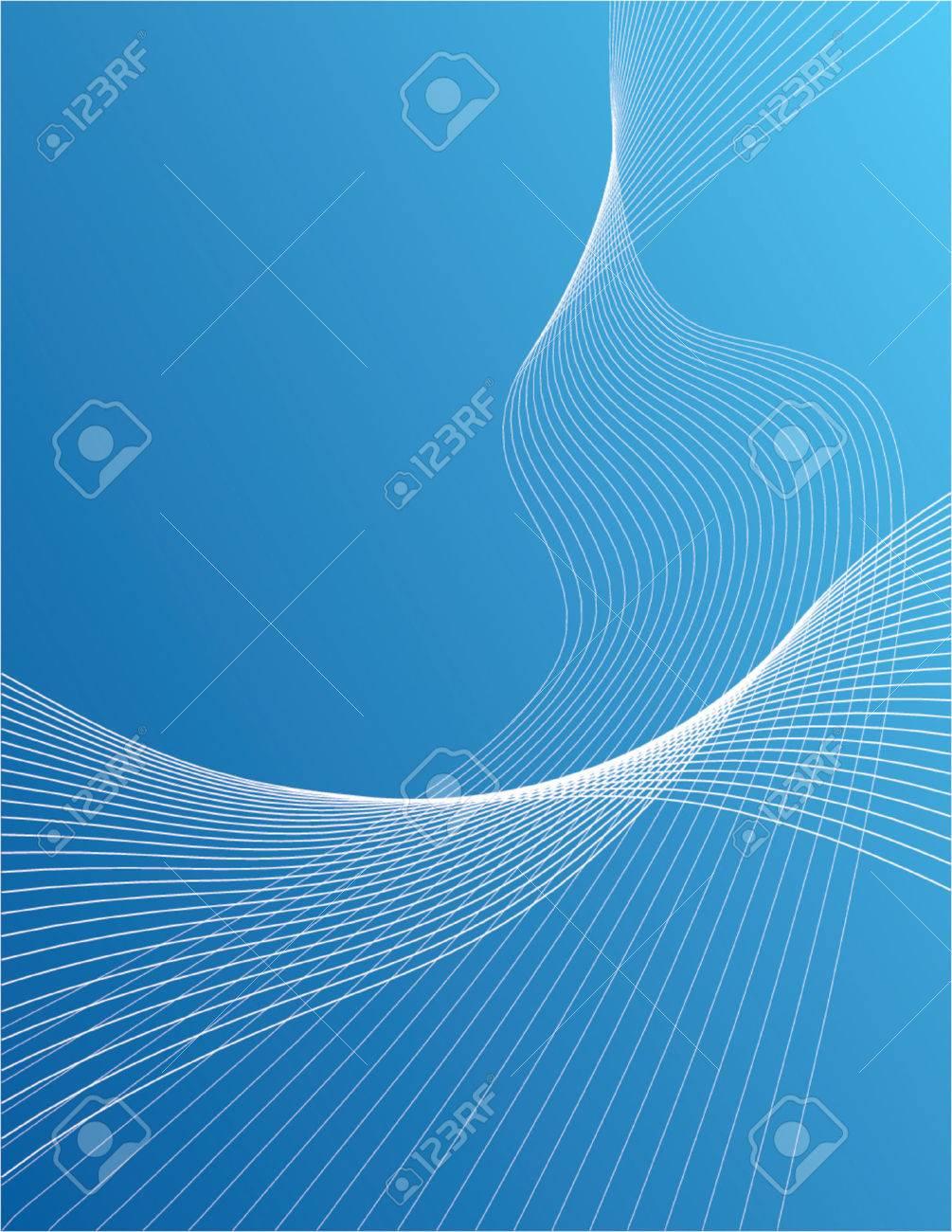 Wavy lines over gradient background Stock Vector - 825852