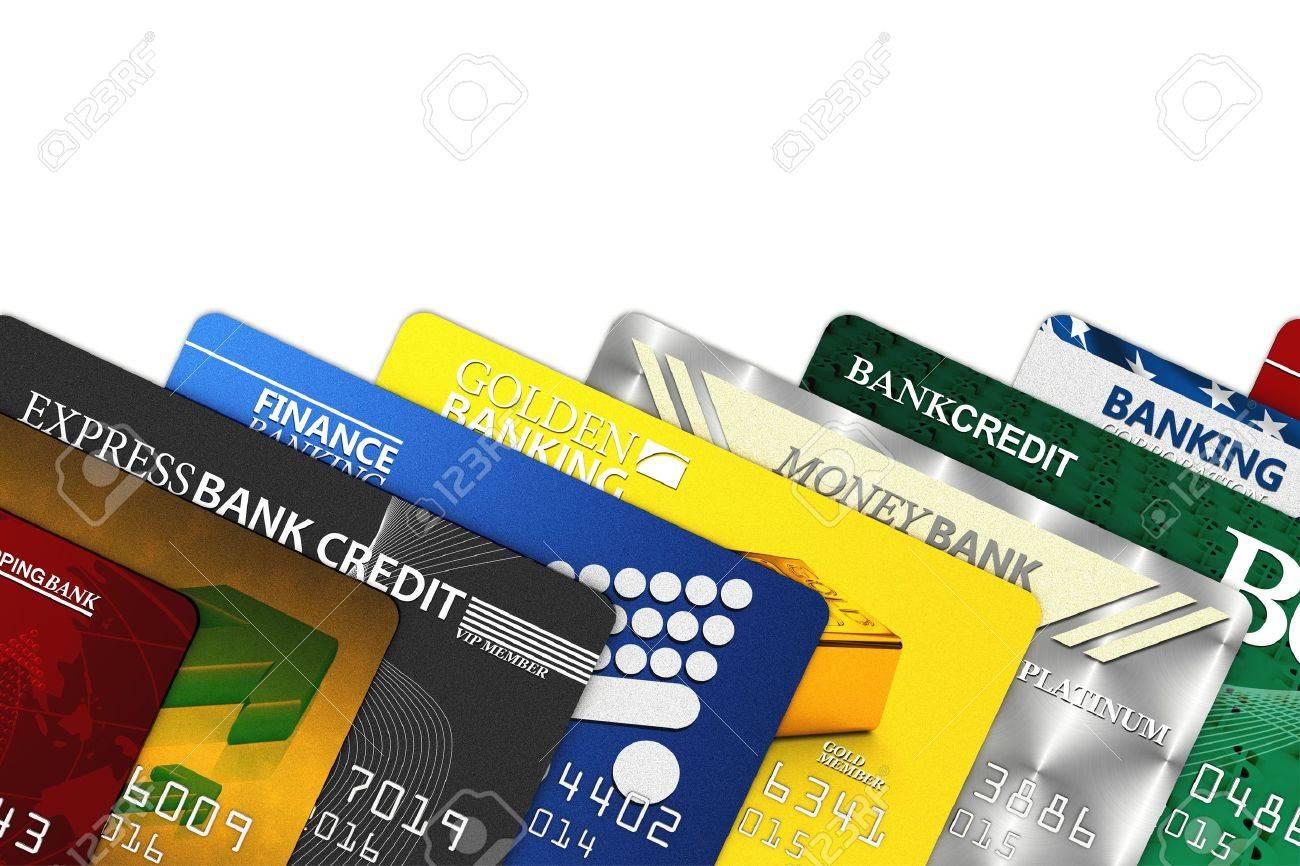 Un Montón De Tarjetas De Crédito Falsas Sobre Blanco Todos Los Logos Nombres Número Y Diseños Son Falsas Fotos Retratos Imágenes Y Fotografía De Archivo Libres De Derecho Image 10253792