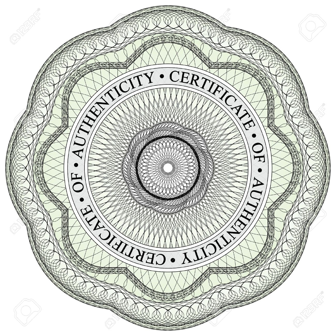 With circular text stating certificate of authenticity royalty free with circular text stating certificate of authenticity stock vector 12798406 yelopaper Images