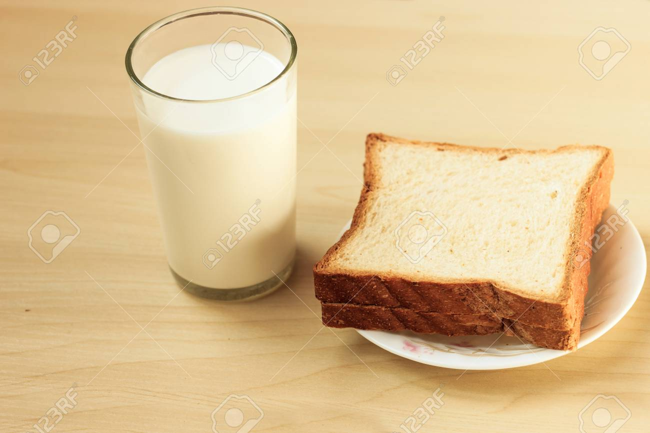 [Image: 48141454-bread-and-milk-for-breakfast.jpg]