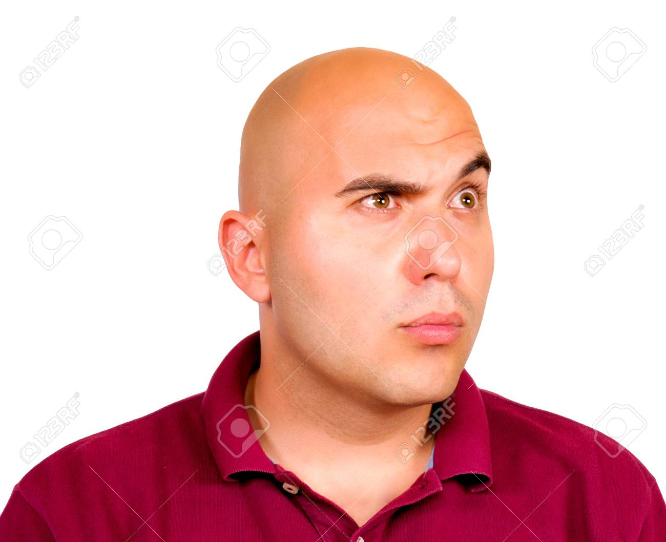 Young man looking up Stock Photo - 14425870