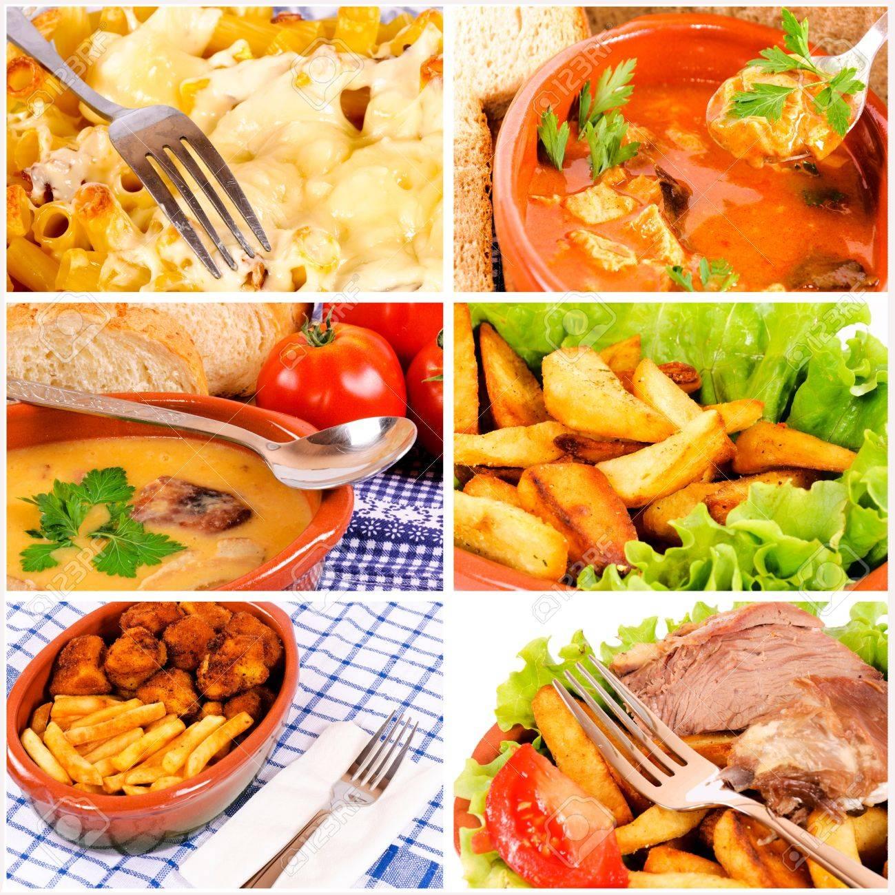 Disegno cucina internazionale : Cucina Internazionale Nel Collage Foto Royalty Free, Immagini ...