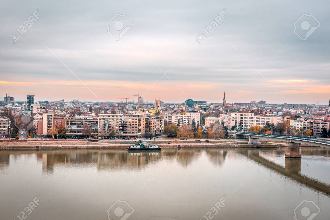 Panoramic City View Of Novi Sad With Buildings In Background Stock Photo Picture And Royalty Free Image Image 90483549