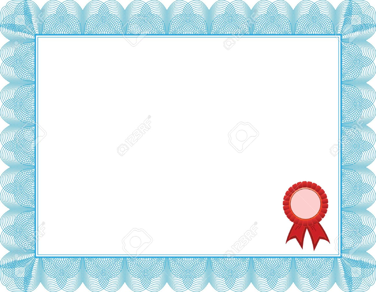 Diploma Certificate Template Royalty Free Cliparts Vectors And