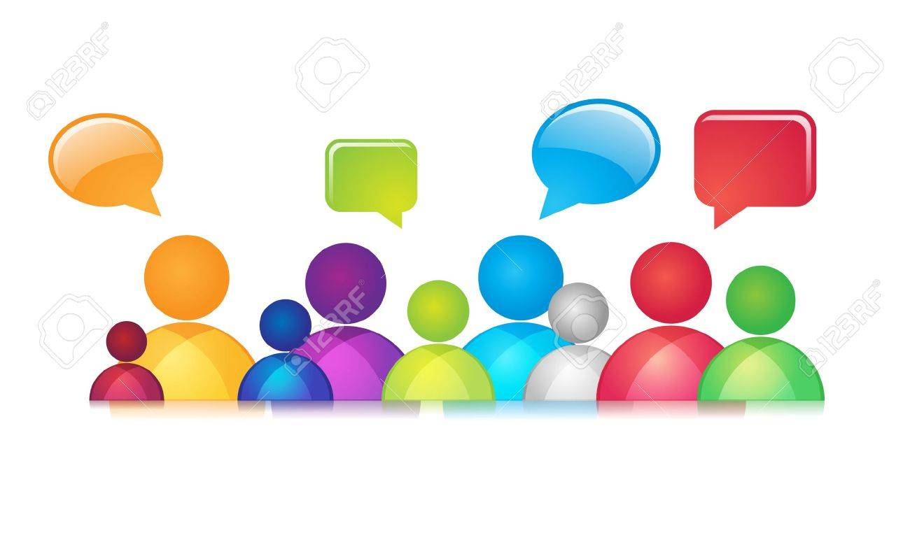 Social network abstract representation  It contains overlay blend mode  No mesh or transparencies Social Communication Stock Vector - 17714567
