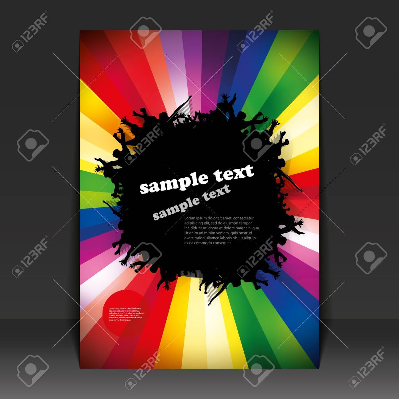 Flyer Design - Party Time Stock Vector - 9933750