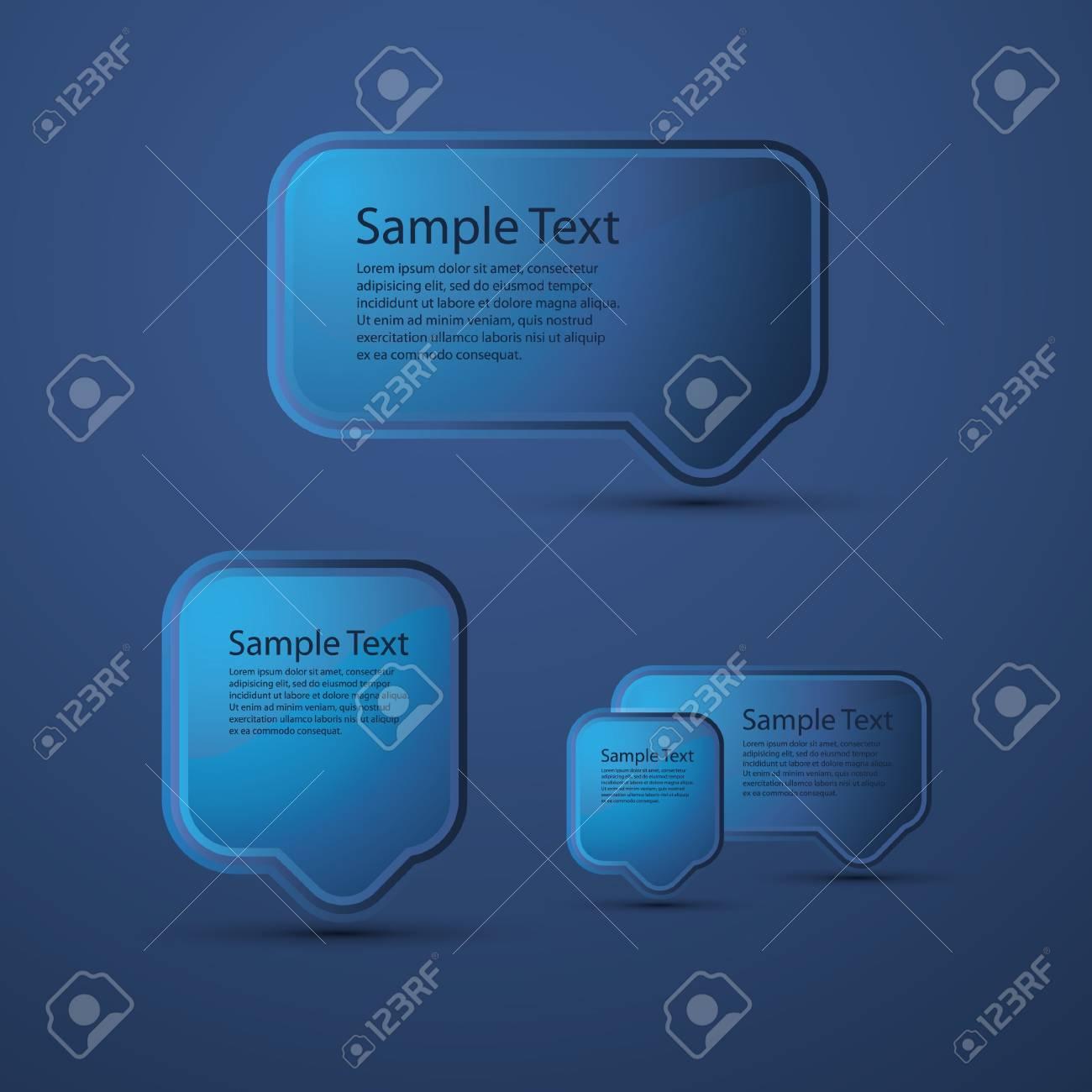 Speech bubble Stock Vector - 10473441