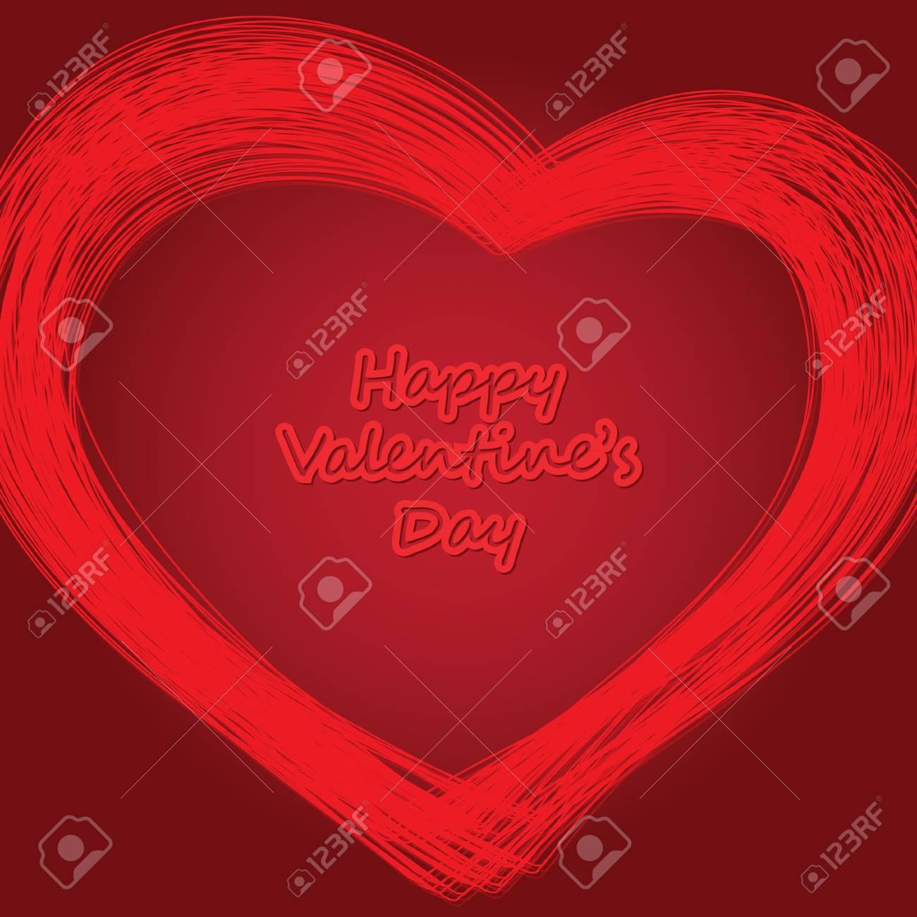 Hearts Background Vector Stock Vector - 10551601