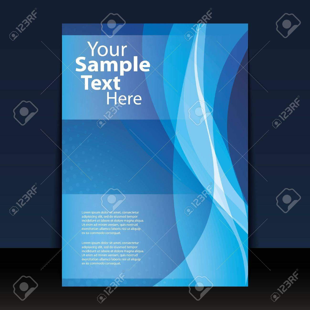 Flyer or Cover Design Stock Vector - 10769785