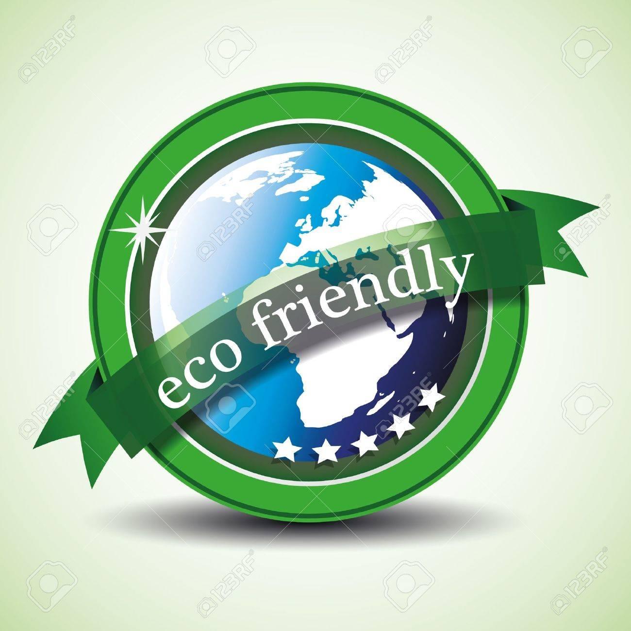 Eco Label illustration Stock Vector - 10922587