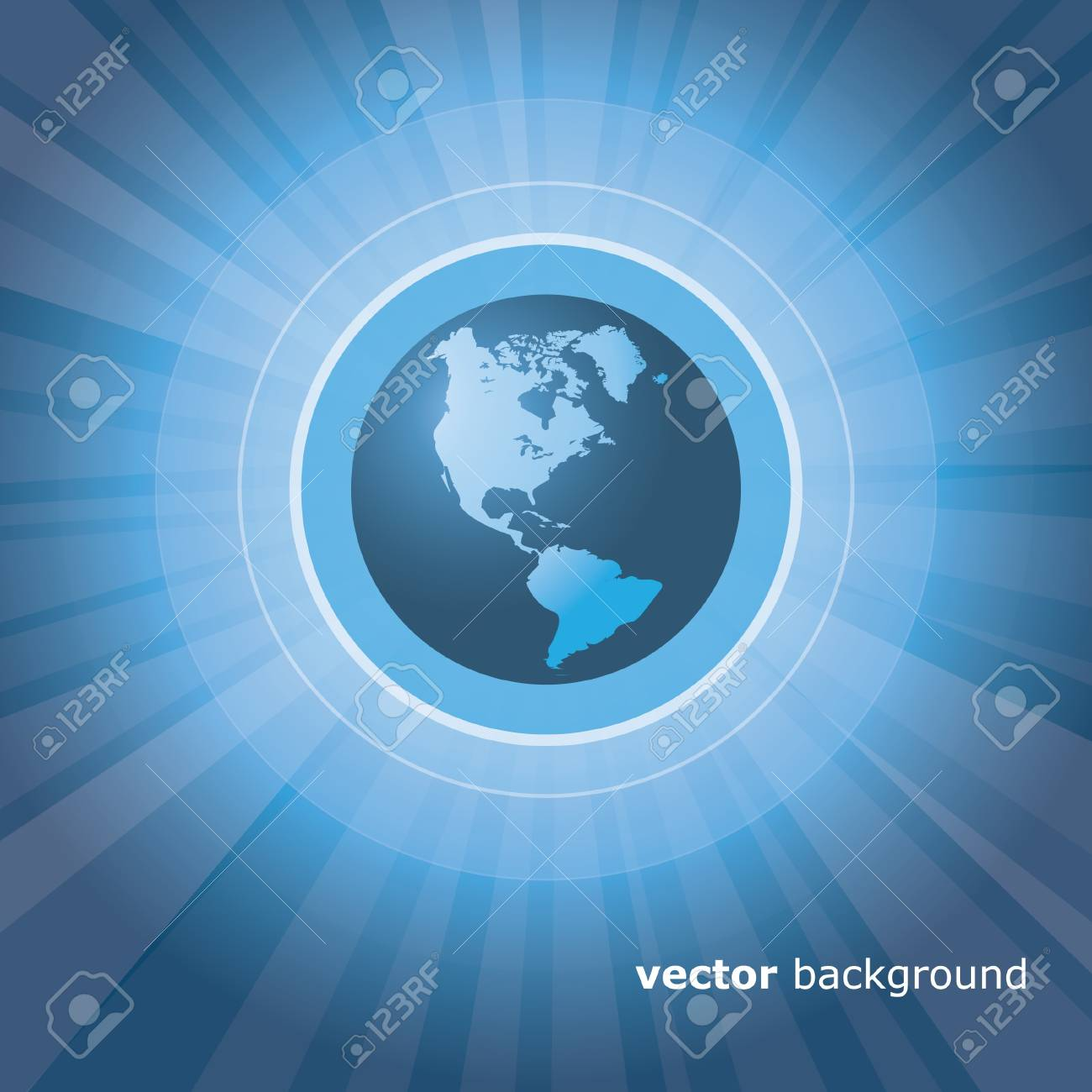 Earth Background Stock Vector - 11069626