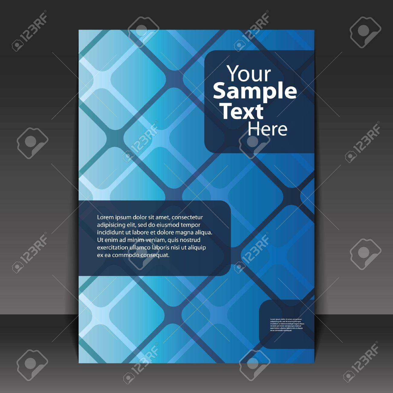 Flyer or Cover Design Stock Vector - 11053661
