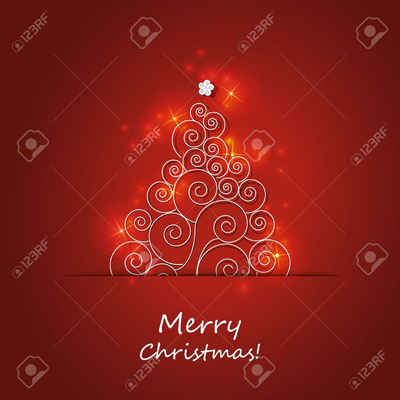 christmas flyer or cover design stock vector 11597642 - Christmas Tree Covers