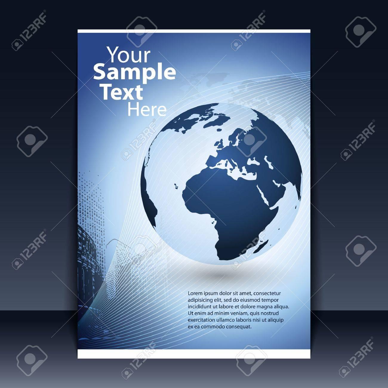 Flyer Design - Business Stock Vector - 11713186