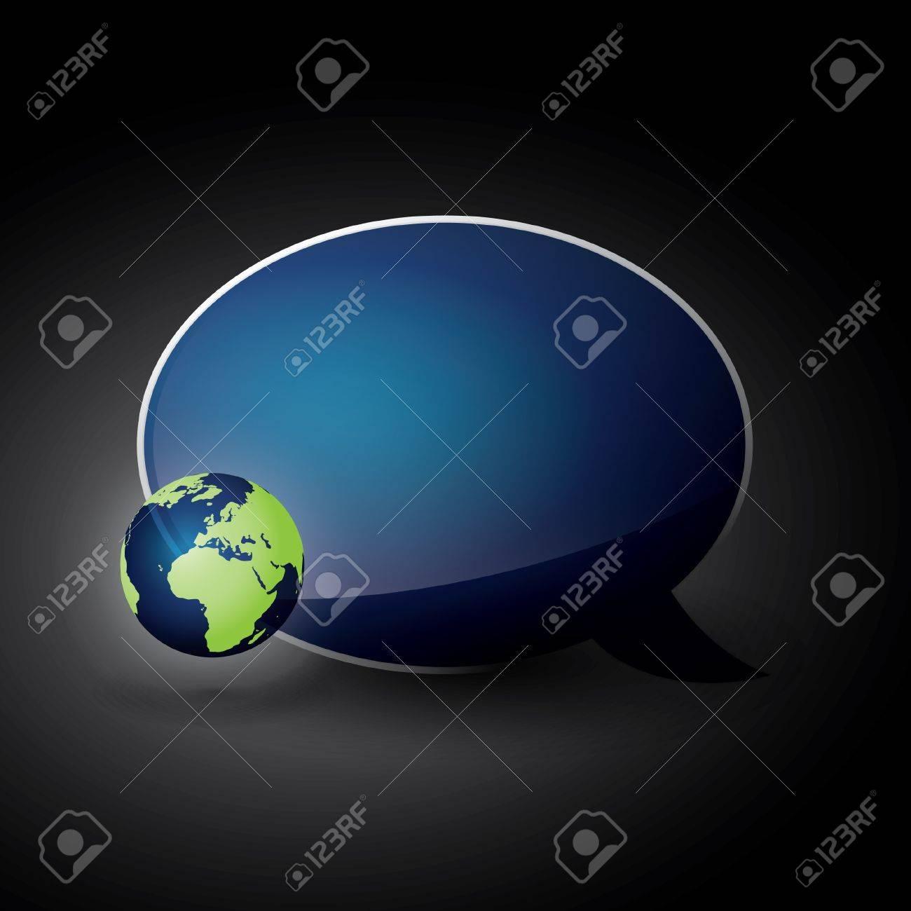 Eco Speech Bubble Stock Vector - 13062974