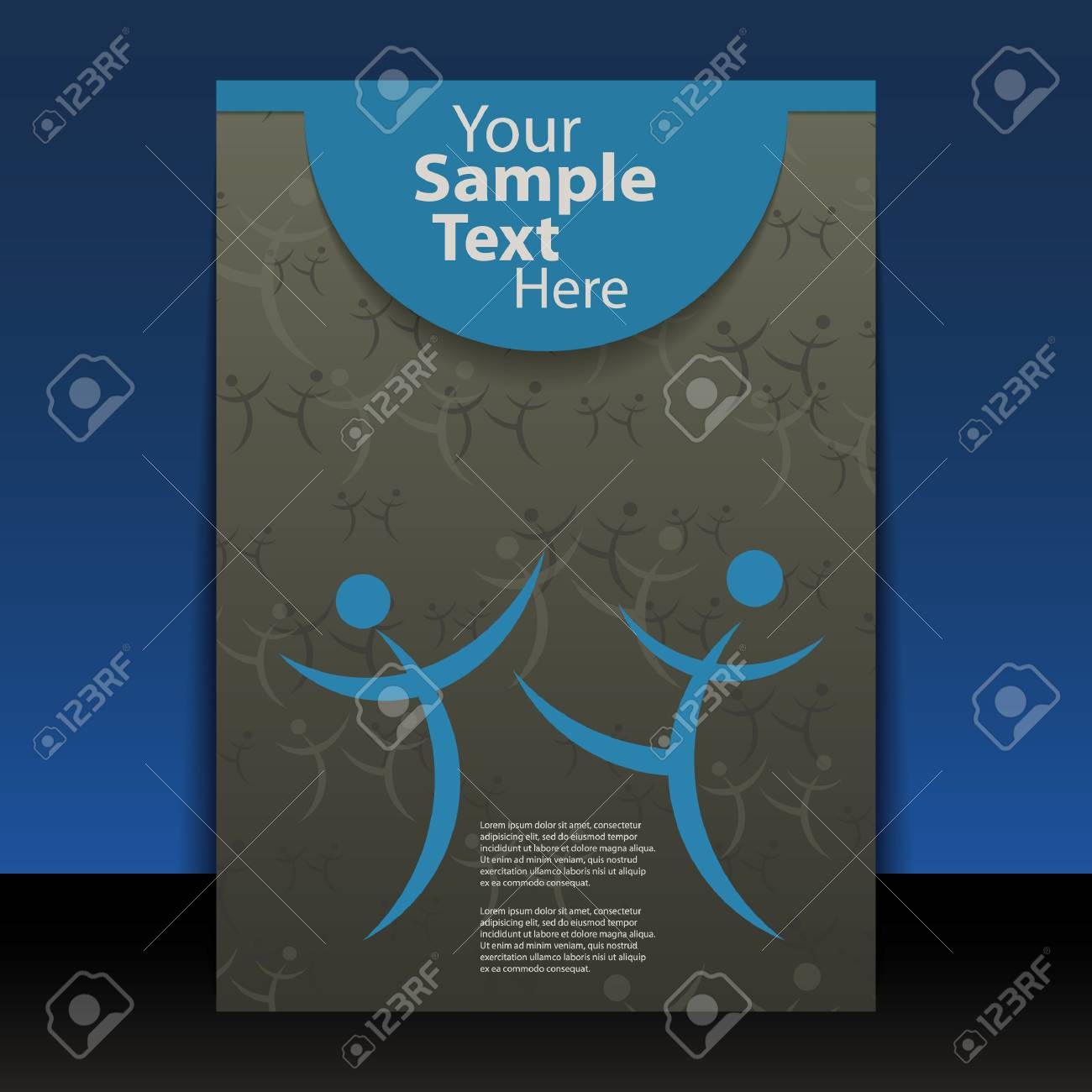 Flyer or Cover Design Stock Vector - 12915653