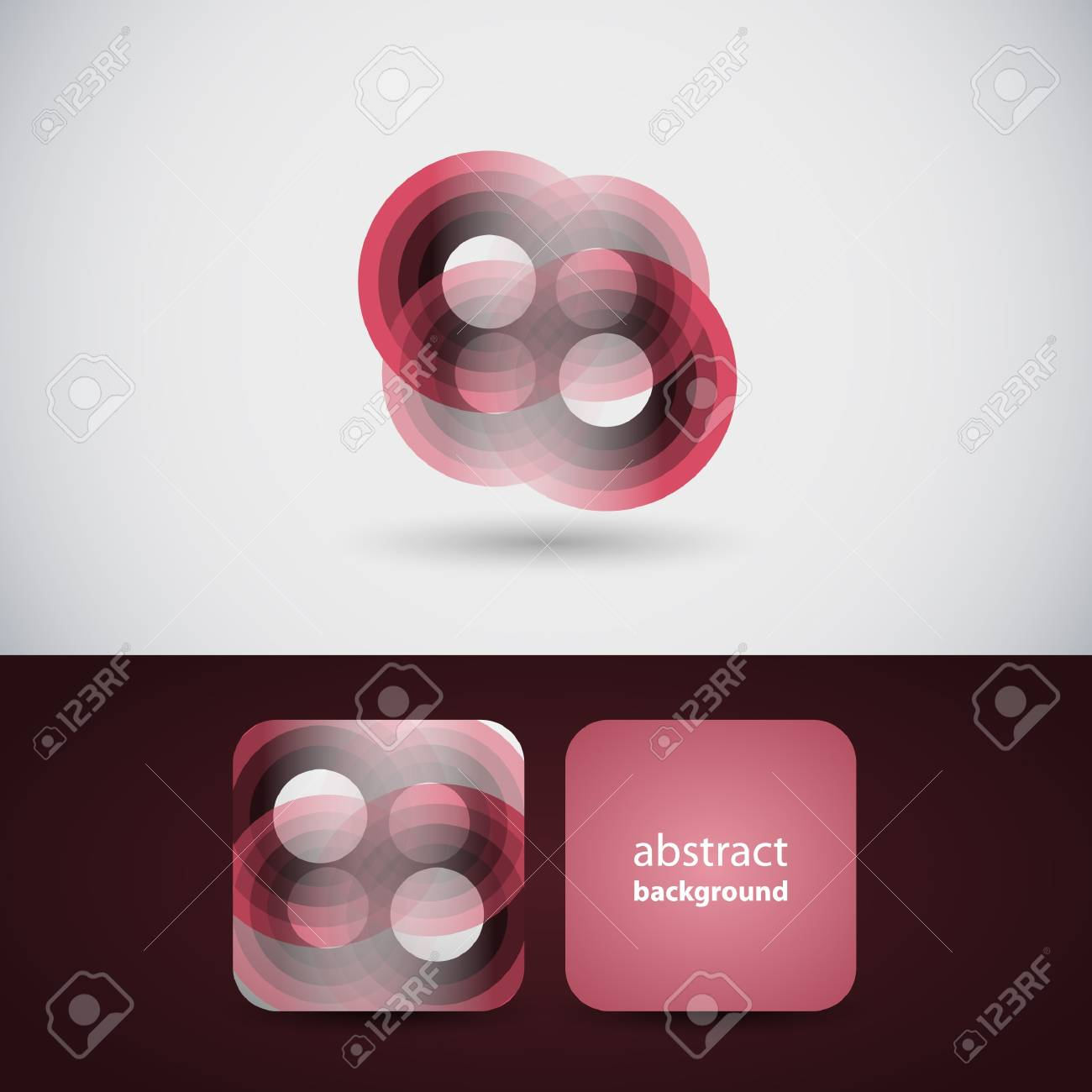 Abstract Flyer or Cover Design Stock Vector - 13801908