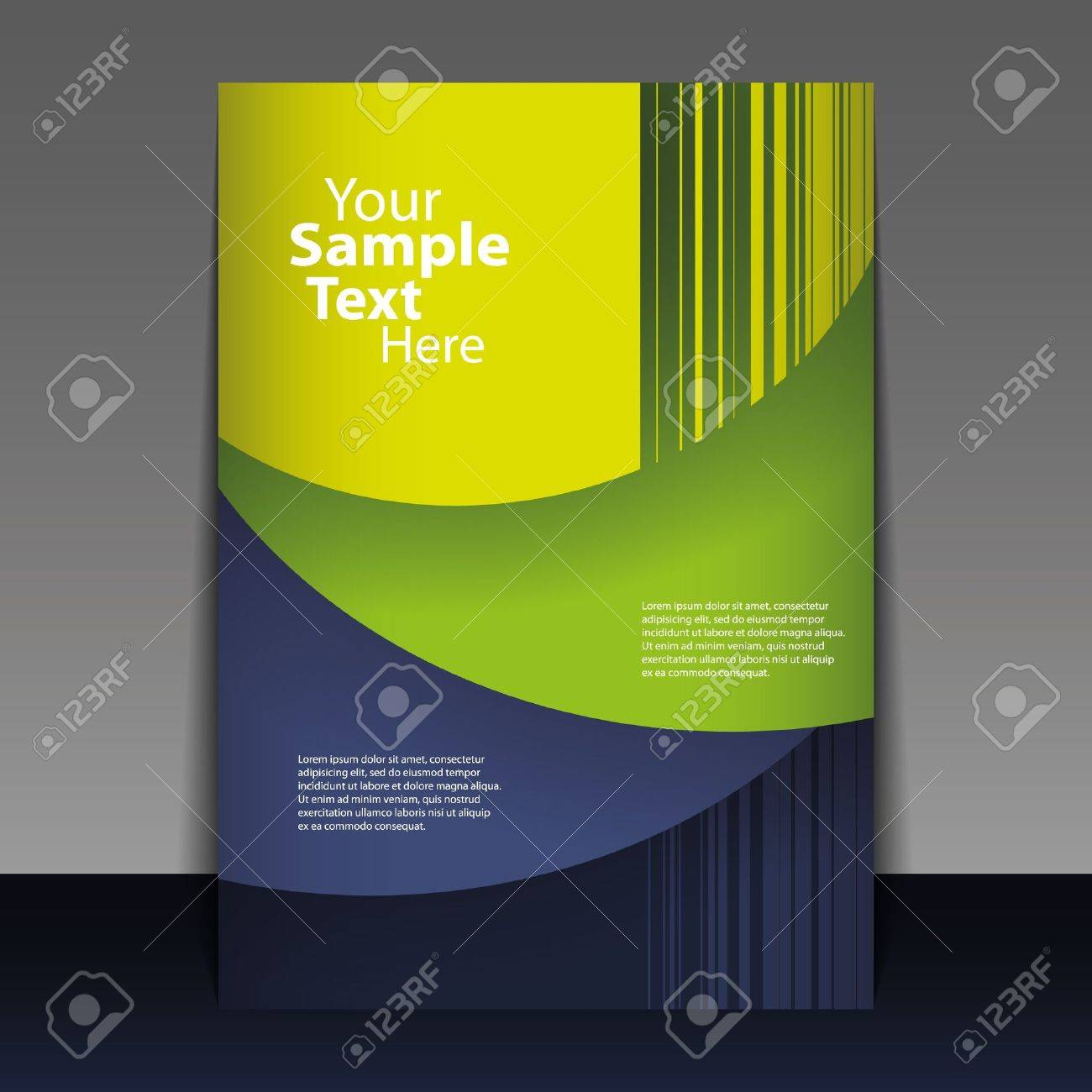 Abstract Flyer or Cover Design - 14331304