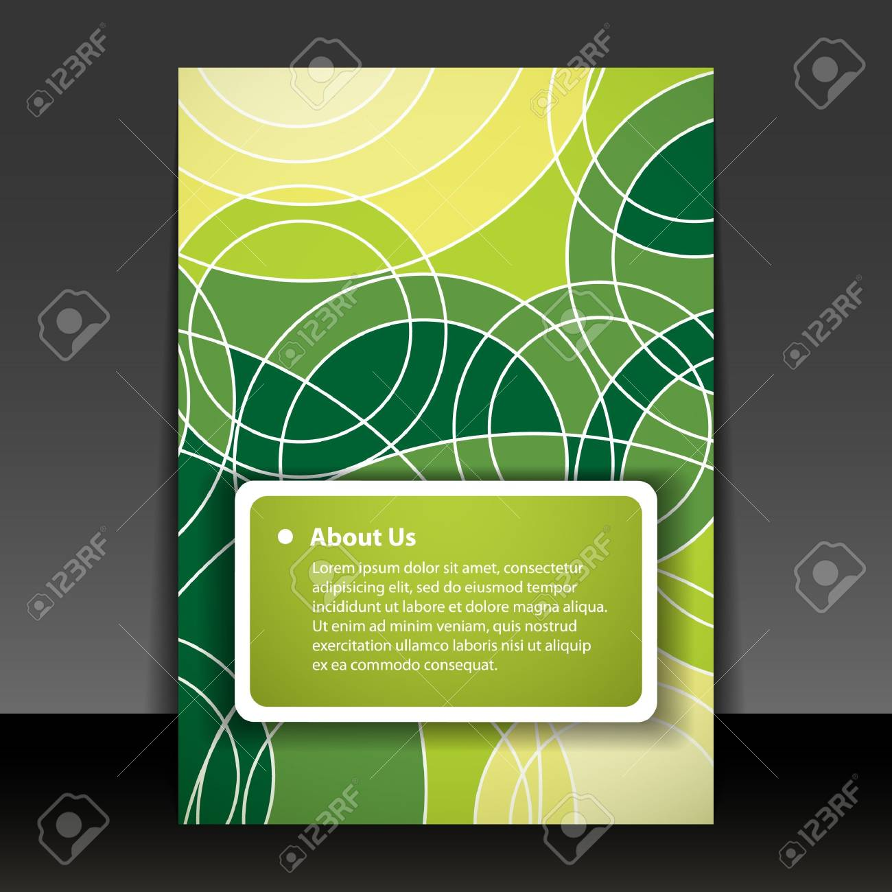 Flyer or Cover Design Stock Vector - 14550819