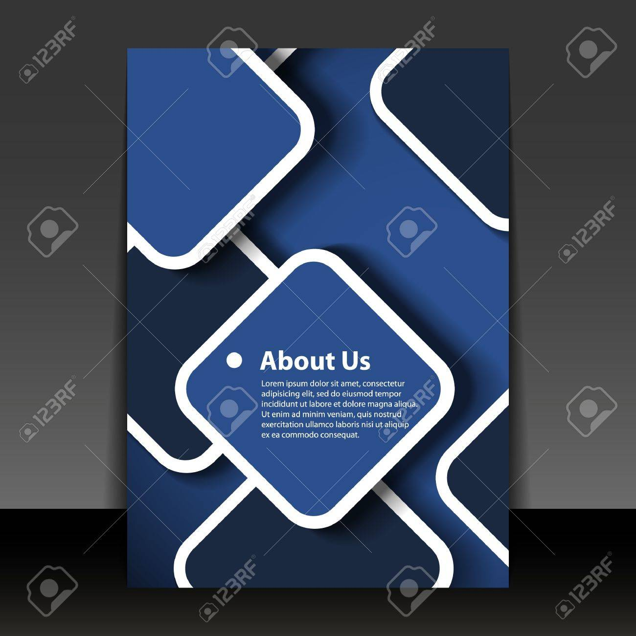 Flyer or Cover Design Stock Vector - 14550817