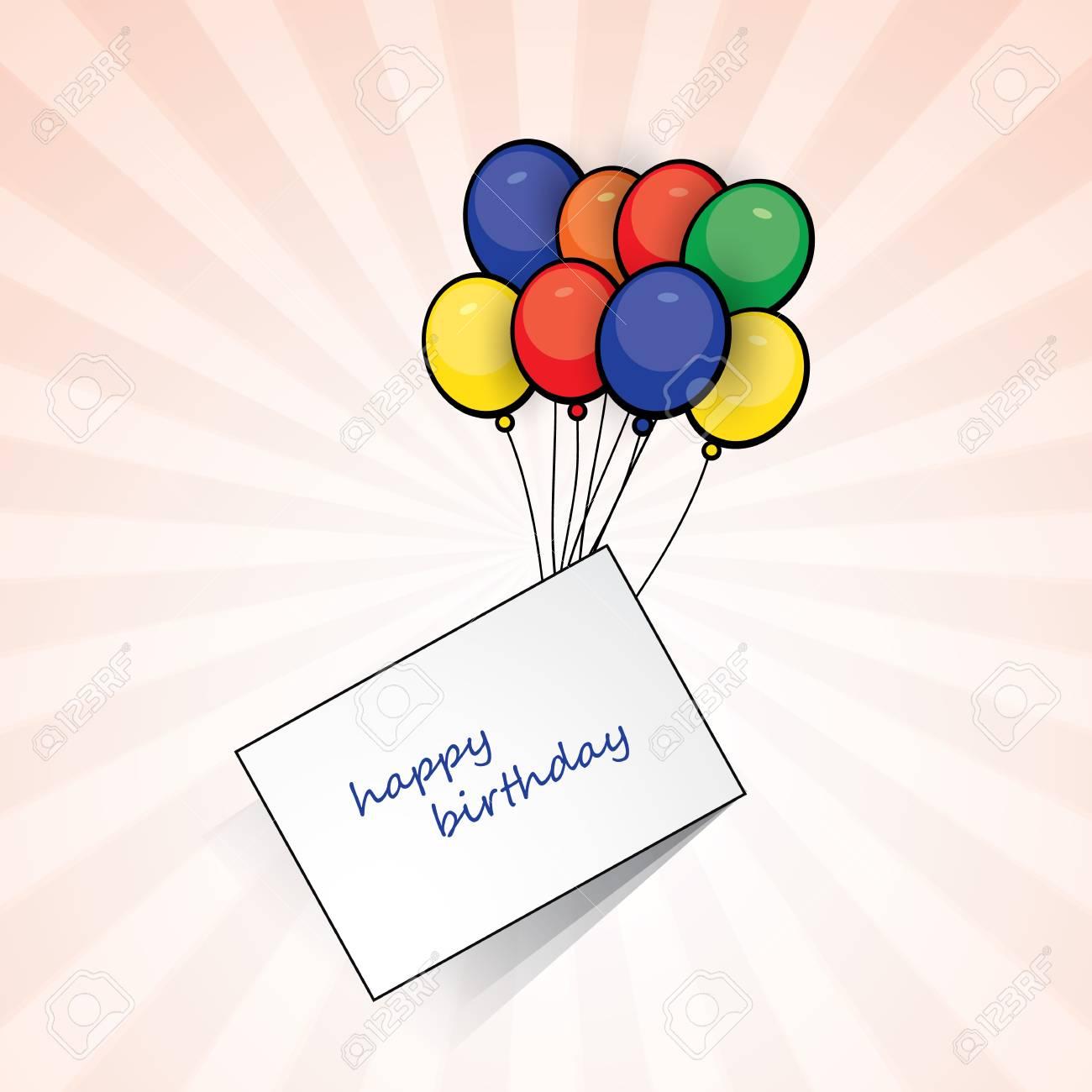 Birthday Card Stock Vector - 14994497