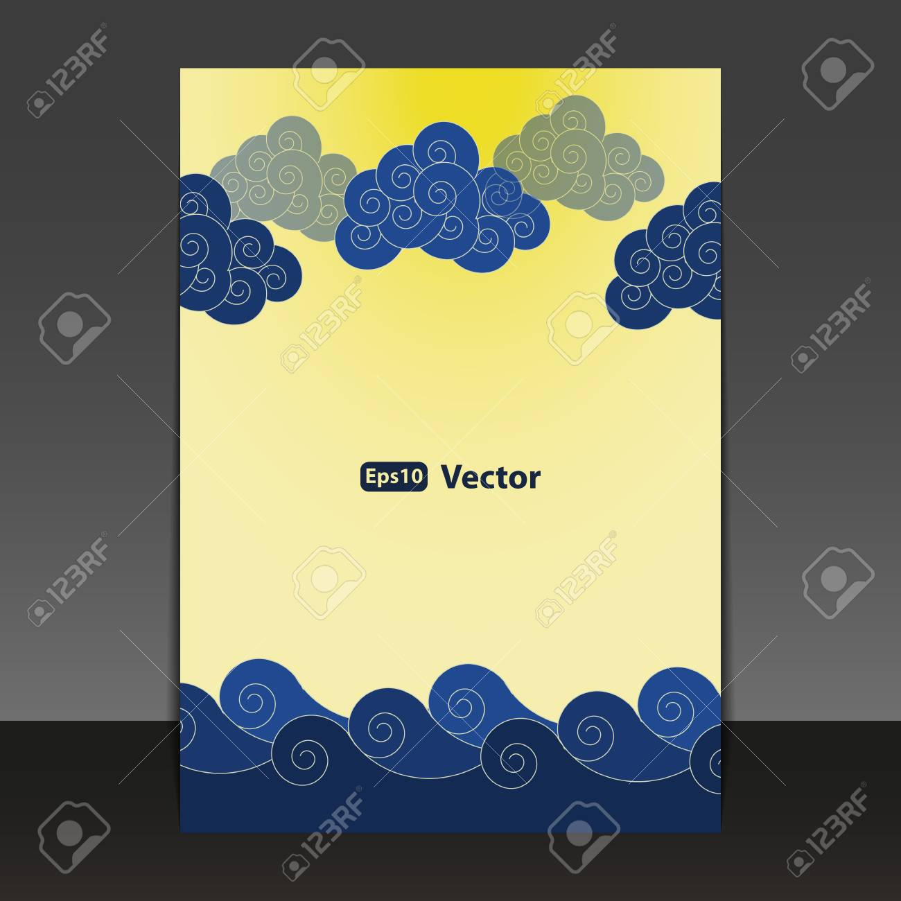 Flyer or Cover Design Stock Vector - 15826929