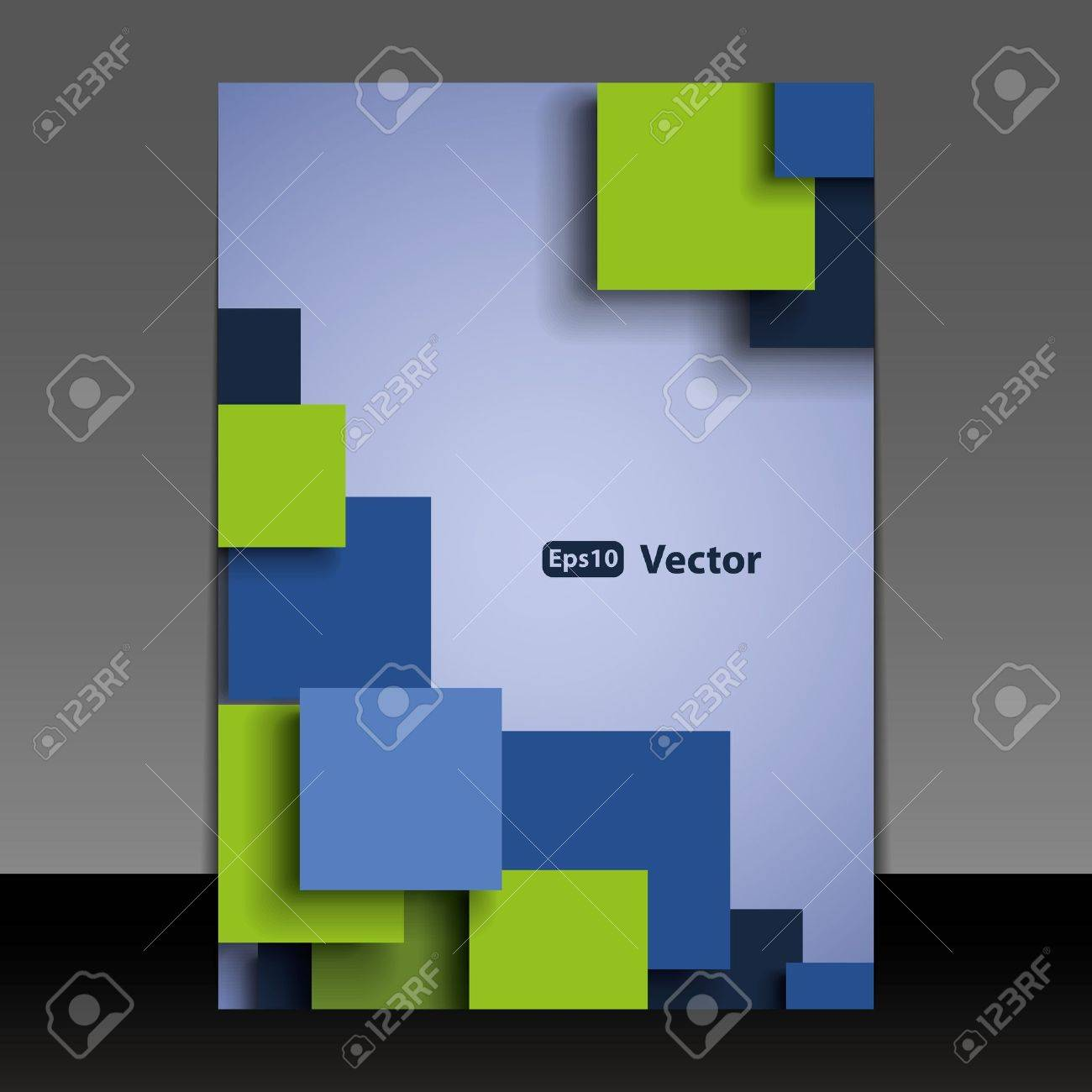 Flyer or Cover Design Stock Vector - 16007424