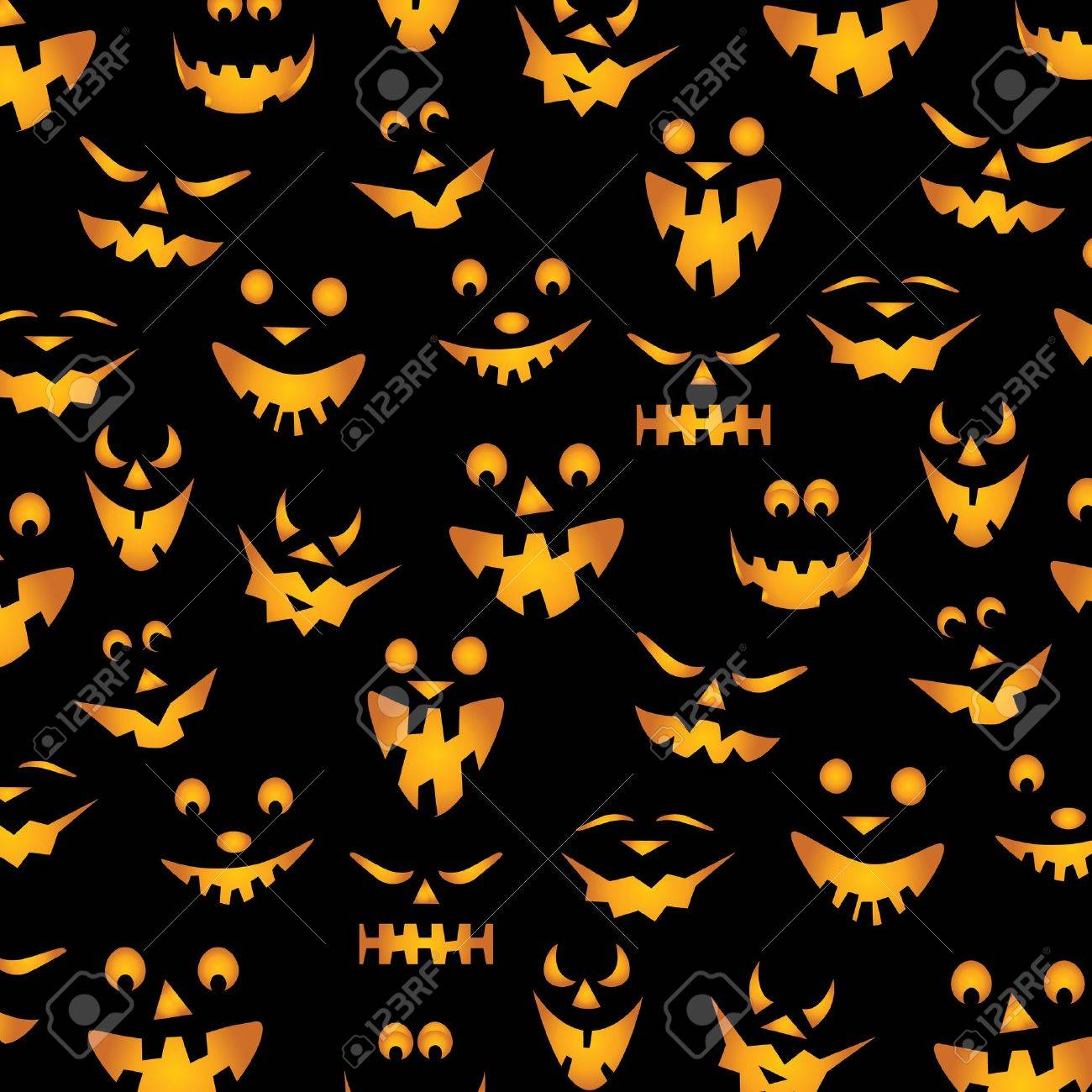 halloween pumpkins background royalty free cliparts vectors and
