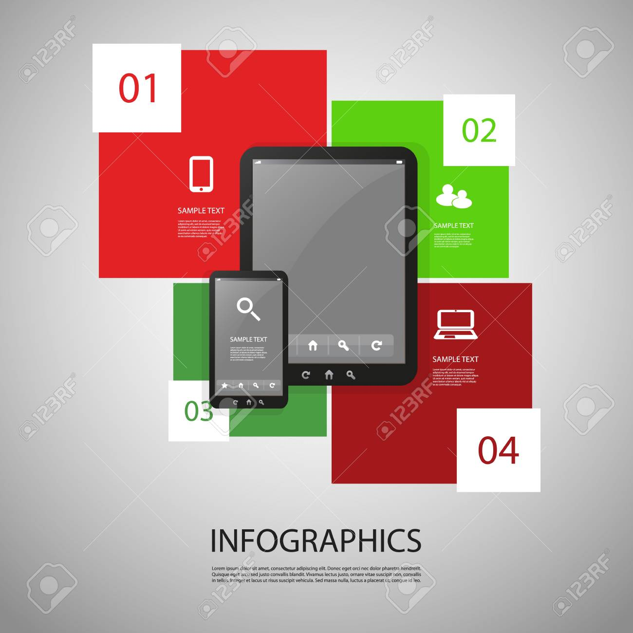 Infographic Design Stock Vector - 19554974