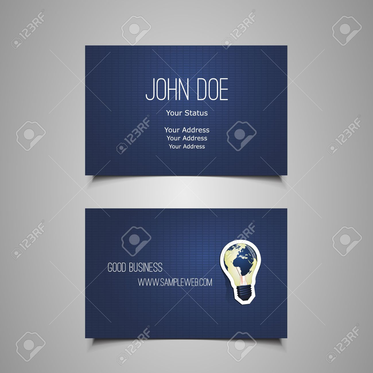 Business card template royalty free cliparts vectors and stock business card template reheart Gallery