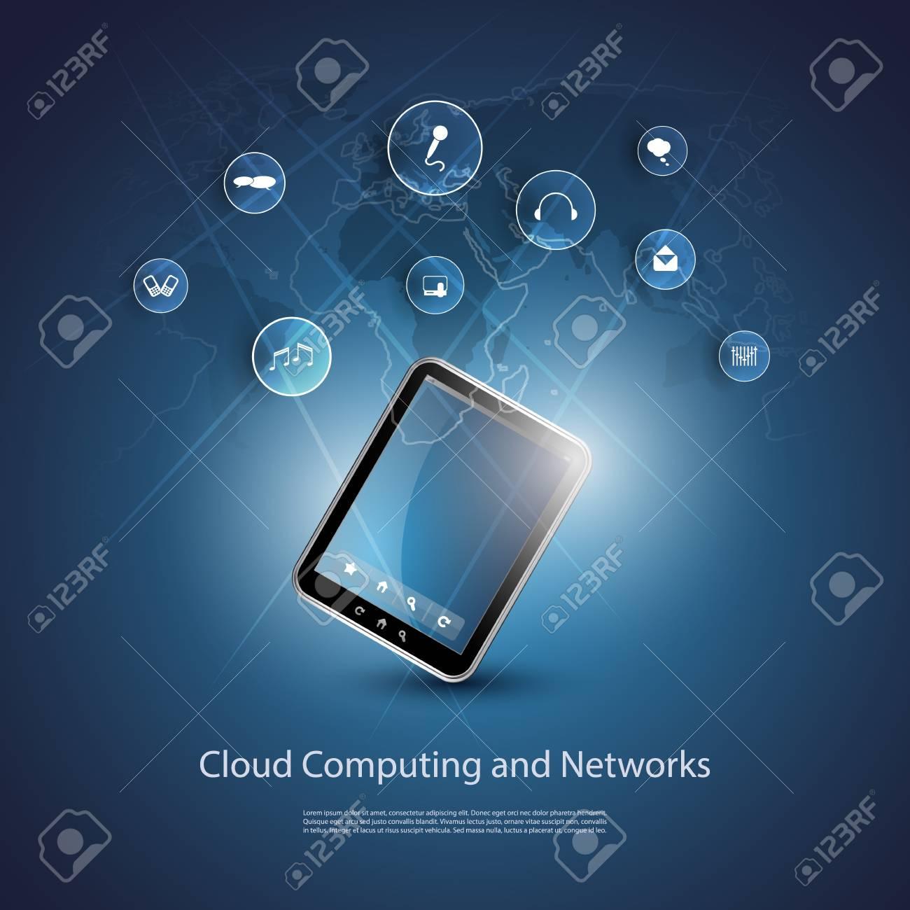 Cloud Computing Concept Stock Vector - 20002022