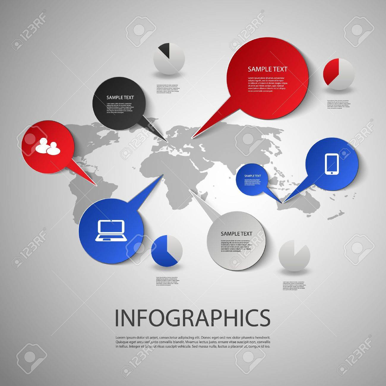 Infographic design world map and icons royalty free cliparts infographic design world map and icons stock vector 20381746 gumiabroncs Choice Image