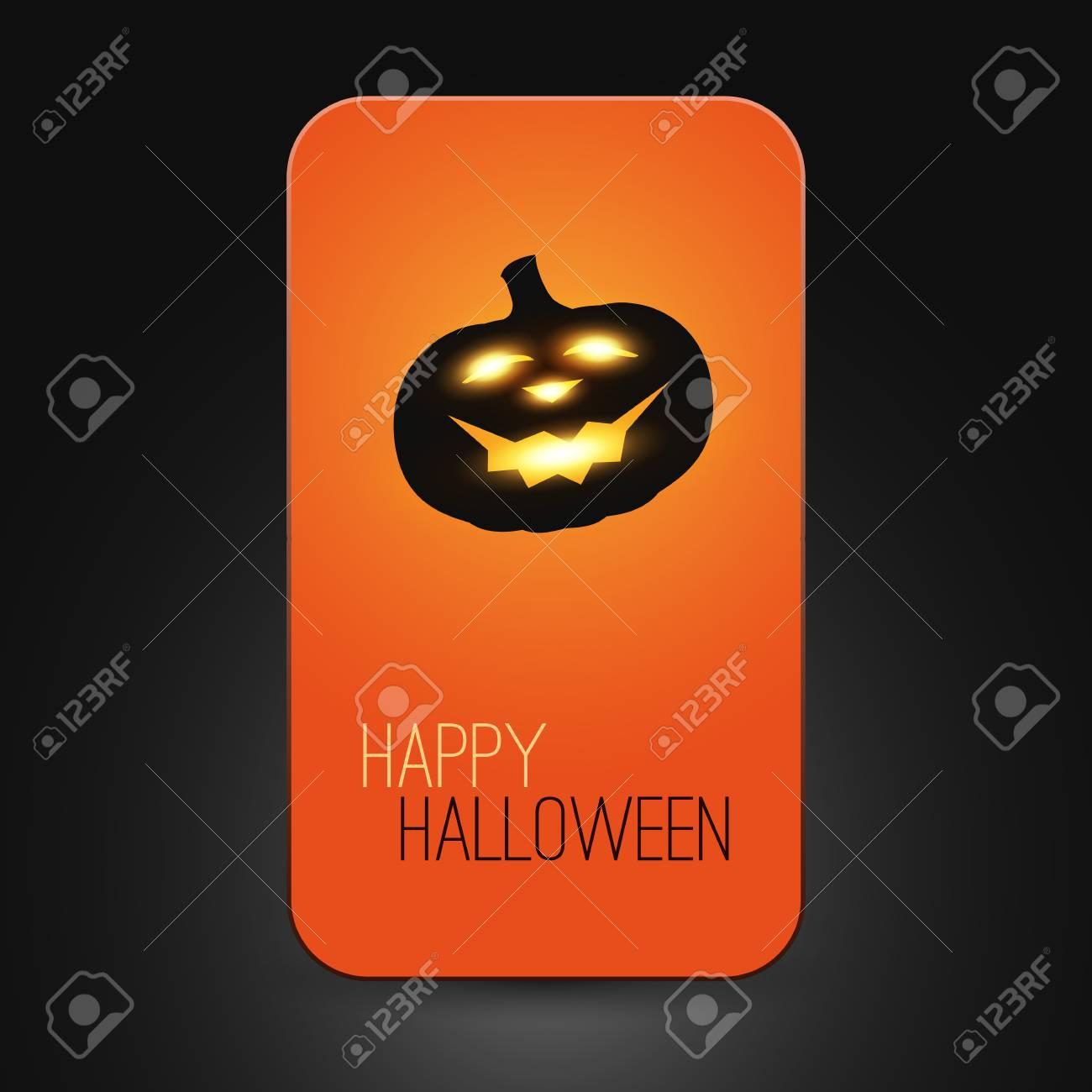 Halloween Card Stock Vector - 22846278