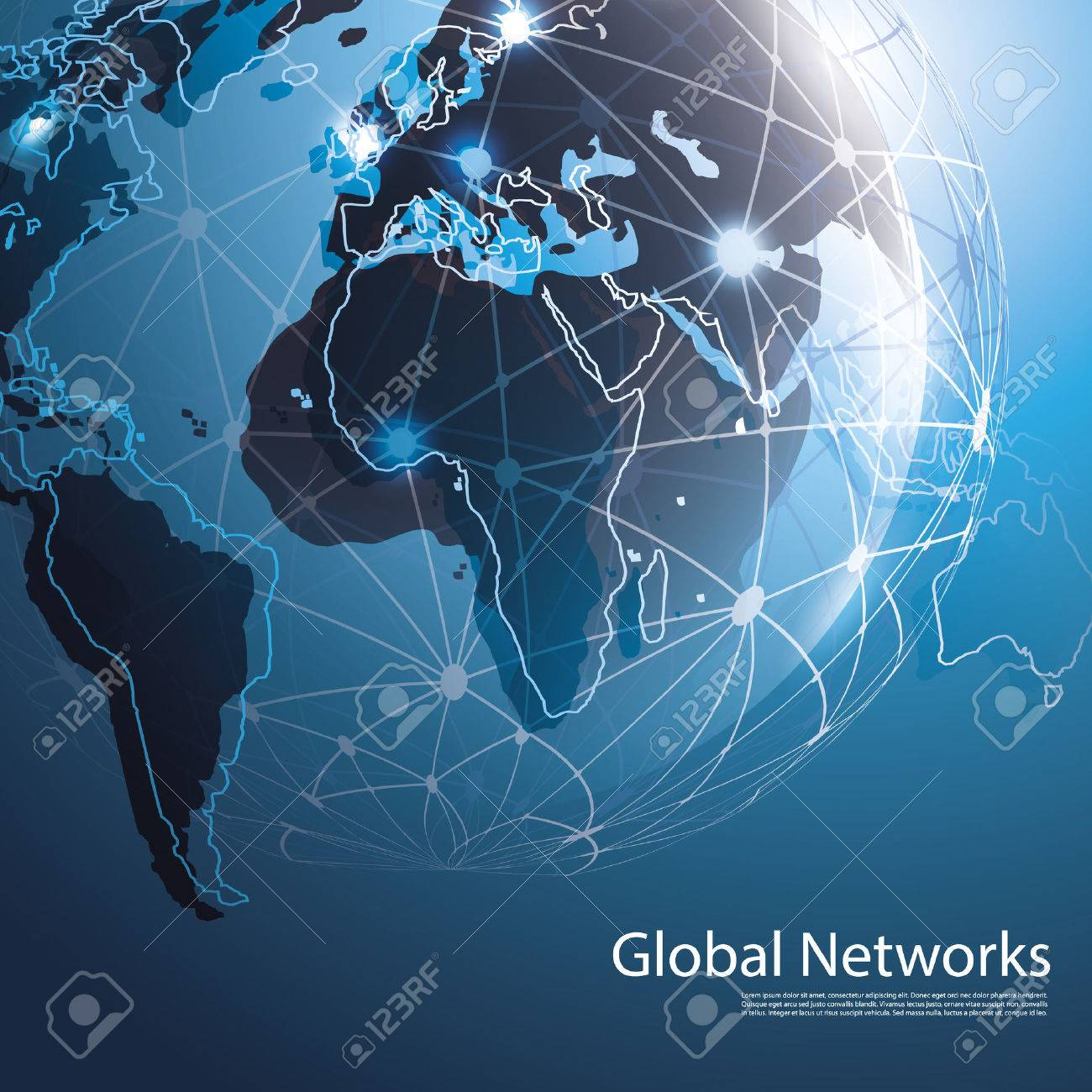 Global Networks - EPS10 Vector for Your Business Stock Vector - 27144814