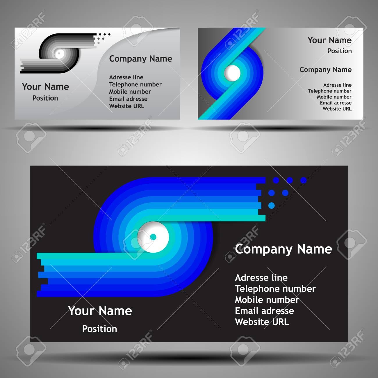 Colorful futuristic business card template layout abstract colorful futuristic business card template layout abstract design for technology stock vector 39382738 fbccfo Choice Image