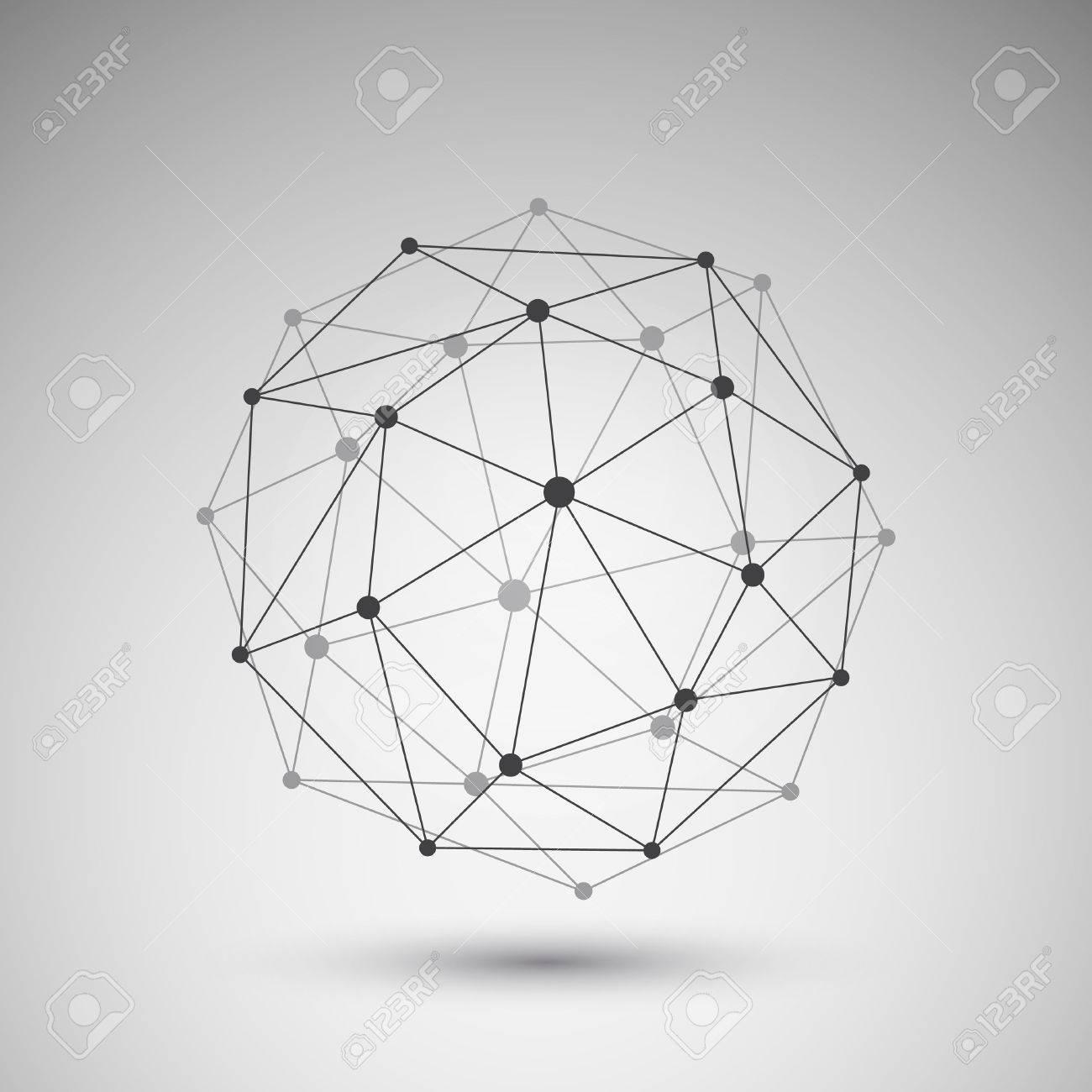Networks Globe Design - 39938129