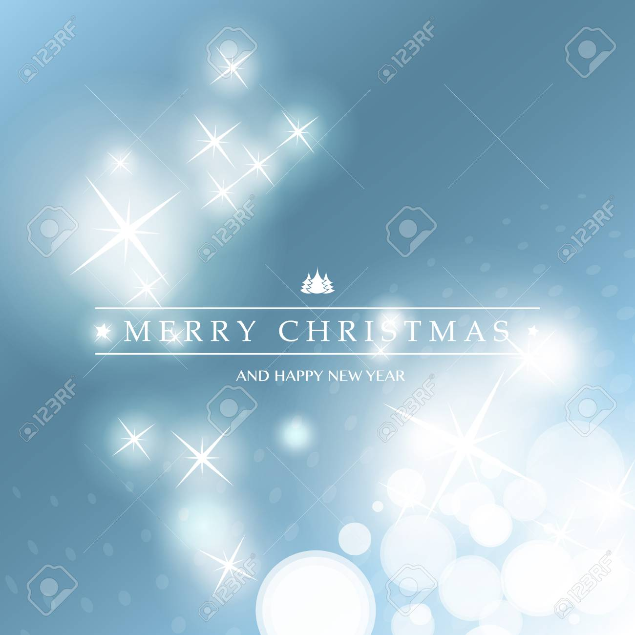 Merry Christmas - Colorful Modern Style Happy Holidays Greeting ...