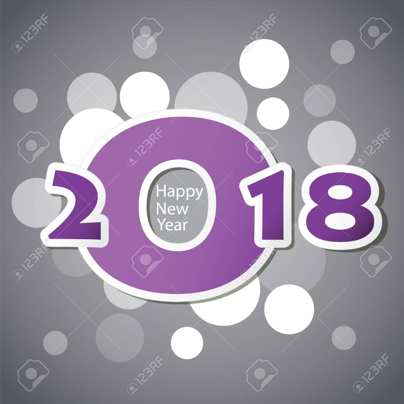 Best wishes abstract modern style happy new year greeting card best wishes abstract modern style happy new year greeting card or background stock vector kristyandbryce Choice Image