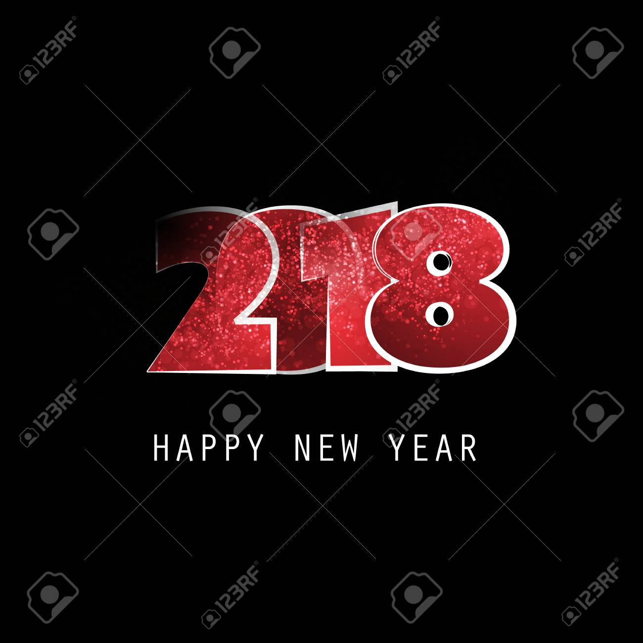 Best wishes abstract modern style happy new year greeting card best wishes abstract modern style happy new year greeting card or background creative design kristyandbryce Image collections