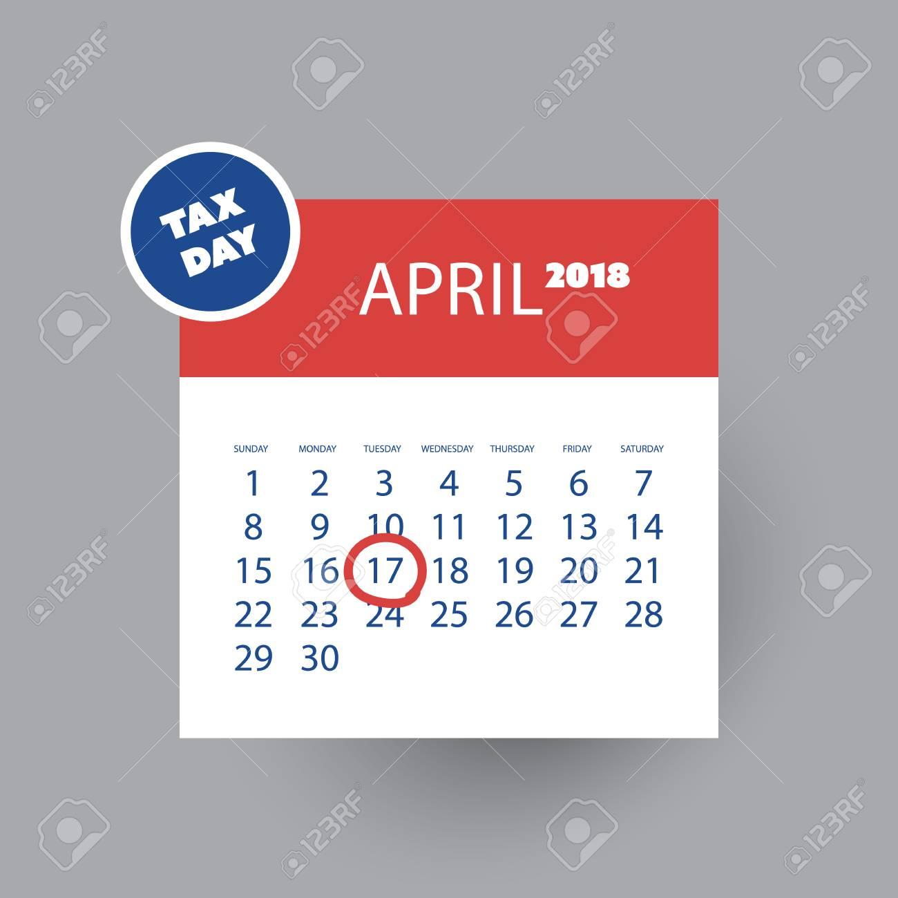 Concepto De Recordatorio Del Día De Impuestos - Plantilla De Diseño ...