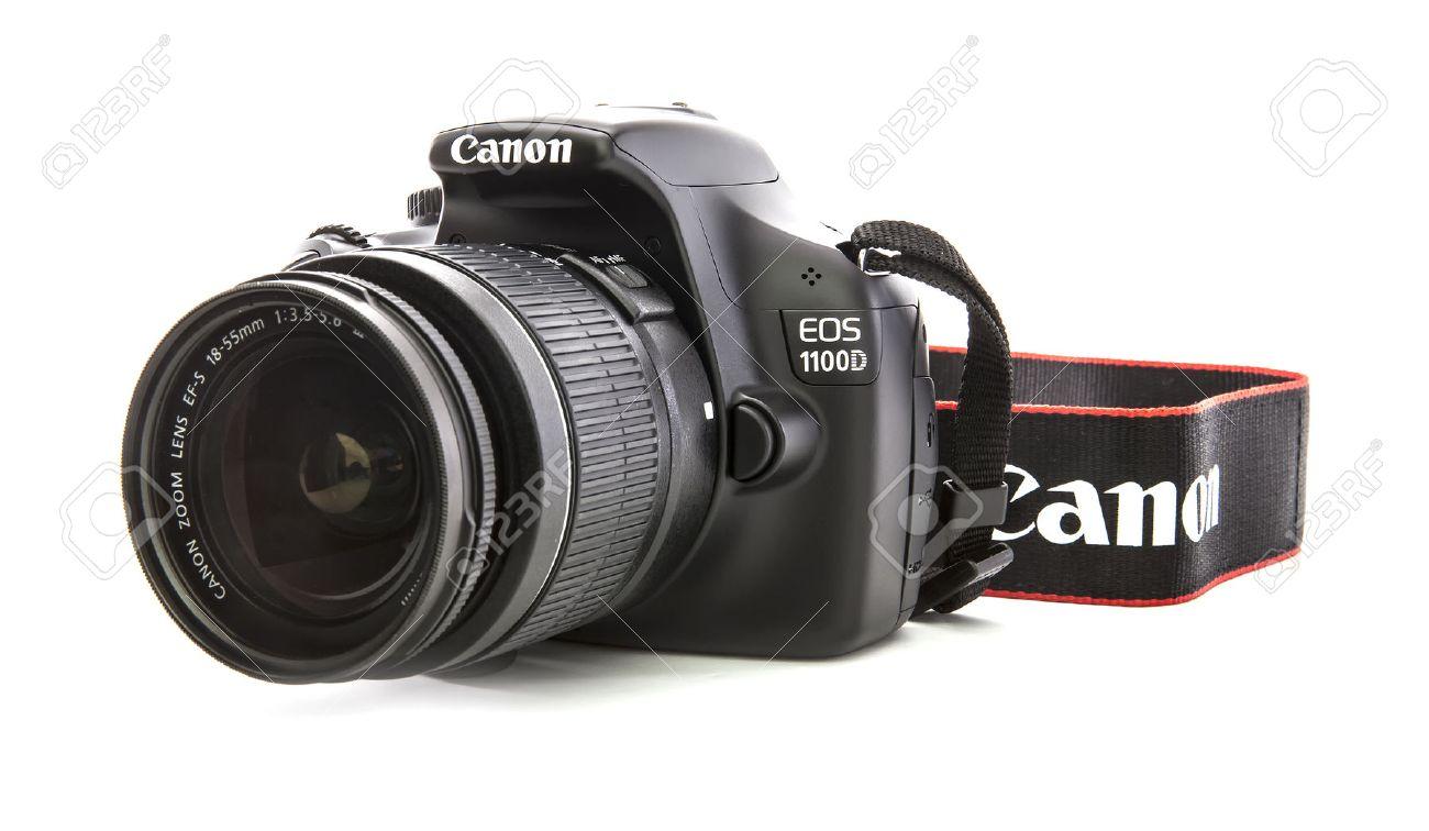 Camera Canon Dslr Camera 1100d swindon uk february 16 2014 canon 1100d dslr camera on a white