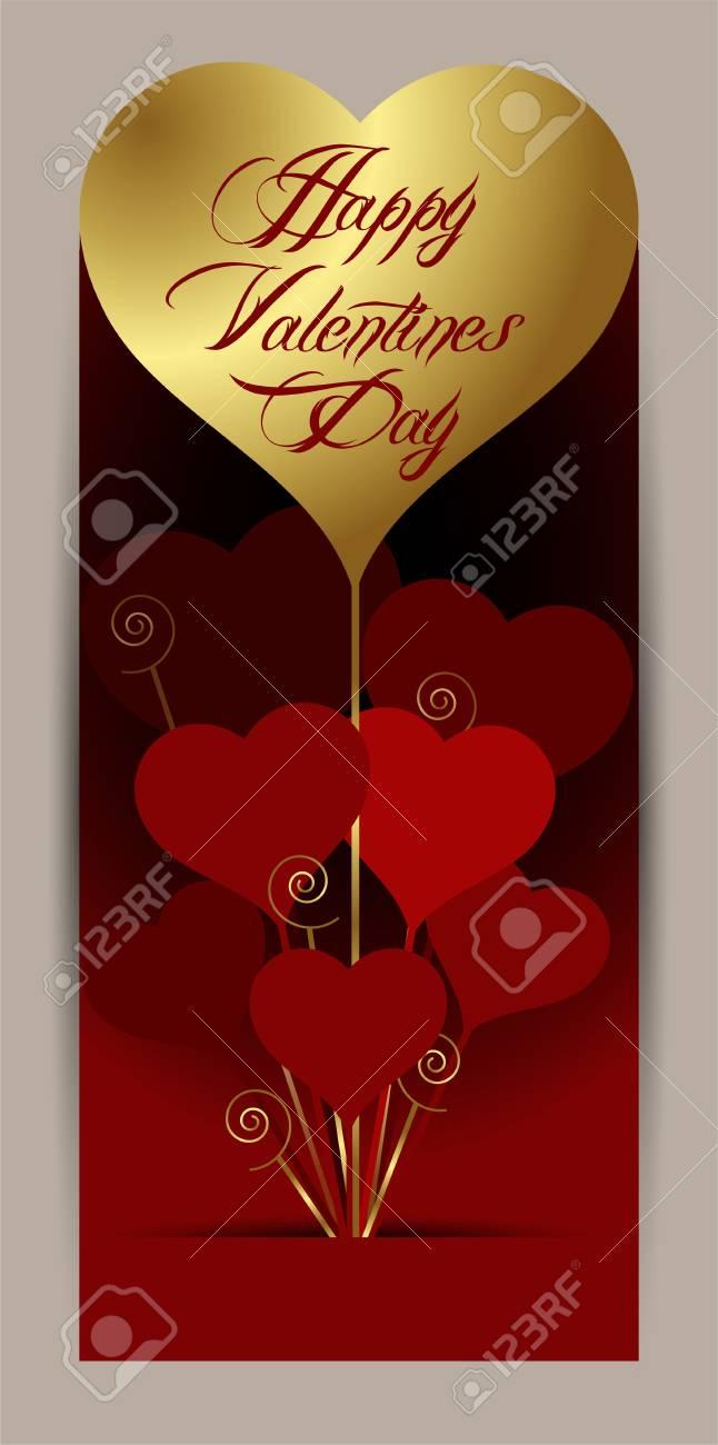 happy valentines day Stock Vector - 24932329