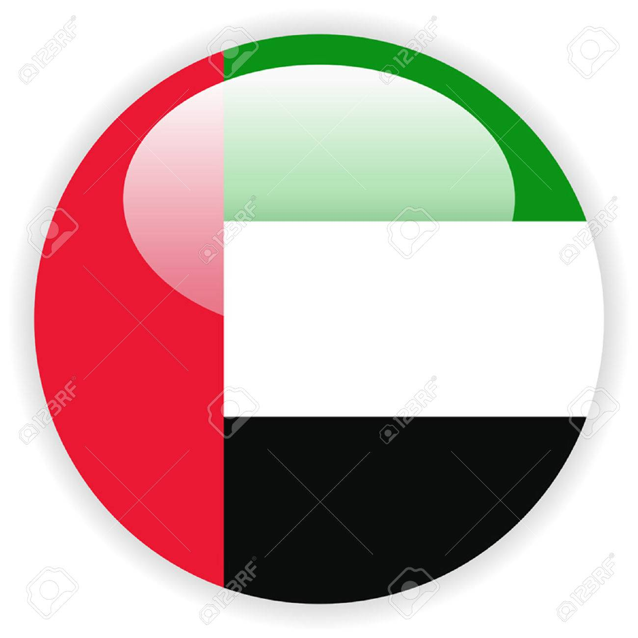 united arab emirates flag template royalty free cliparts vectors