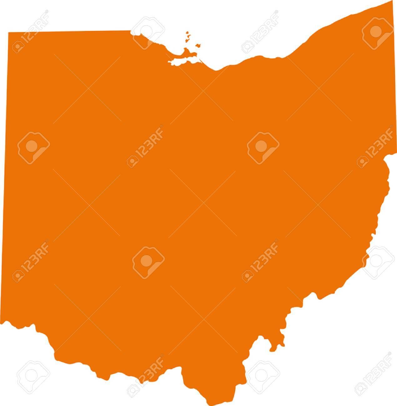 Free Ohio Map.Ohio Map
