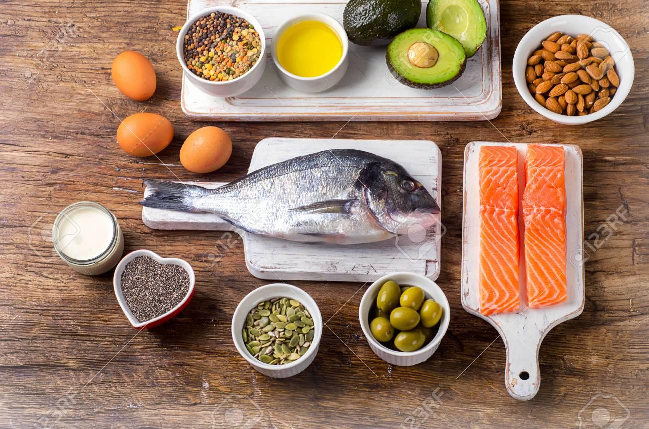 Alimentos Ricos En ácidos Grasos Omega 3 Y Grasas Saludables ...