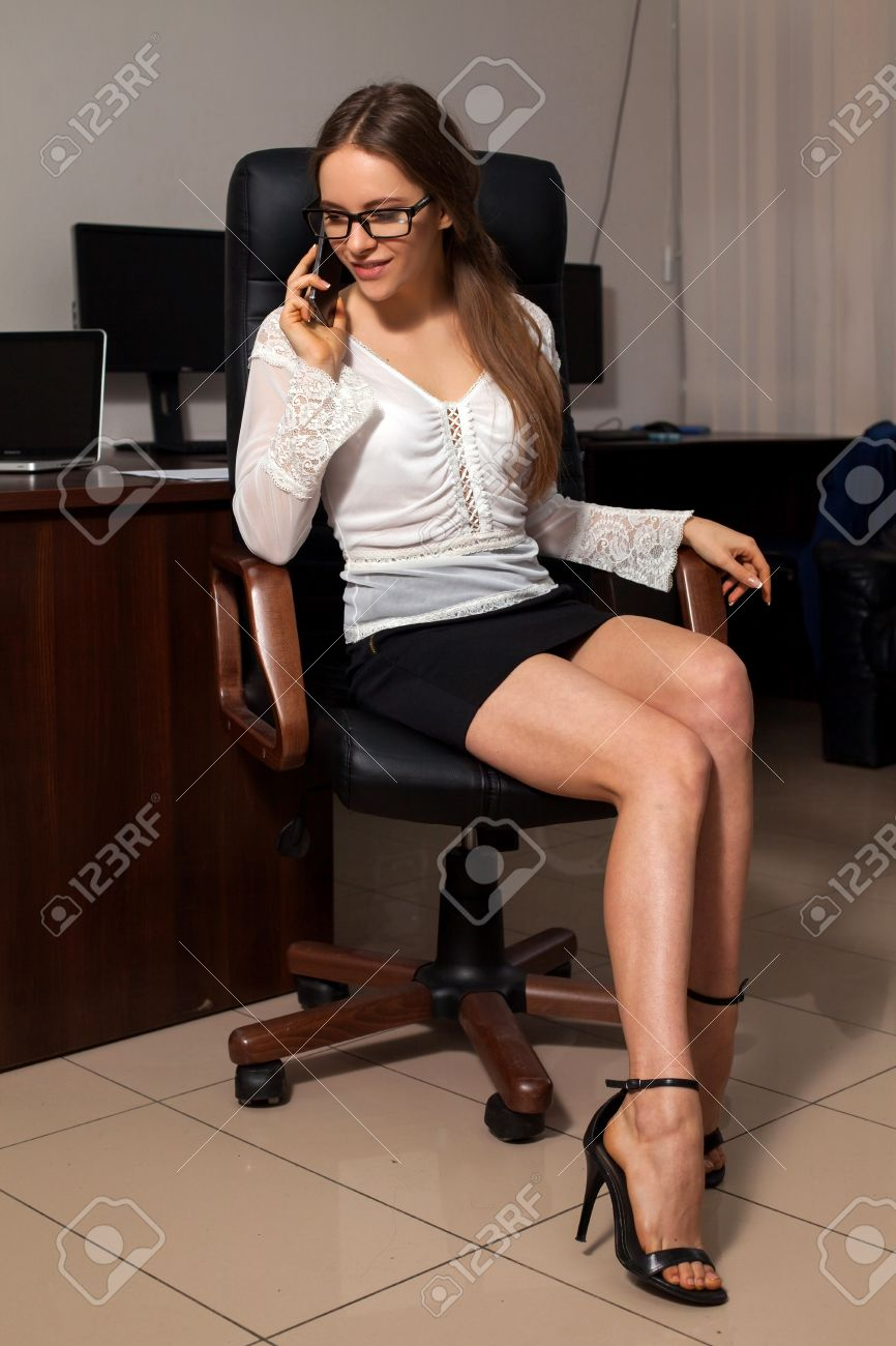 Sexy Office Secretary